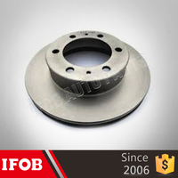 Auto Chassis Parts wholesaler the brake disc for Toyota HILUX GGN35 43512-0K010