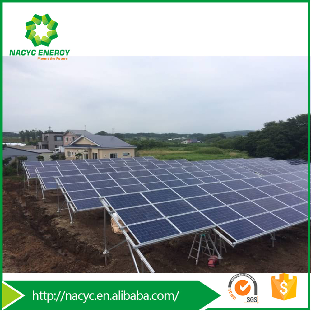 Easy Installation Solar Aluminum Ground Mount Metis PASIII PV Mounting Solar System Structure