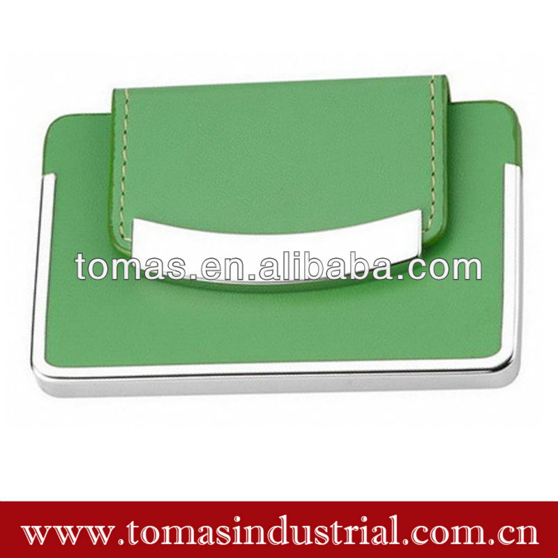 Cheap cute business leather name card holder