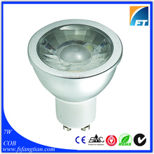 CE RoHS Listed 230V 7W GU10 GU5.3 COB LED Spotlight Lamp Price