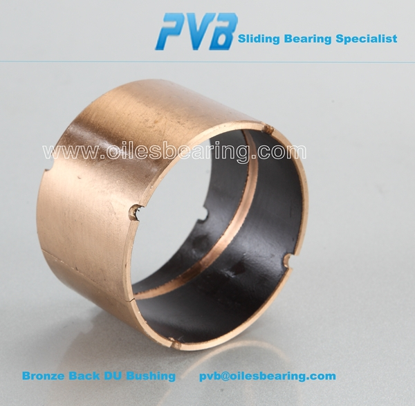 Solid Lubricants LFB-0306 Bronze Steel Bush SF-1T Hydraulic Cylinder Bearing Teflon DU Sleeve Bushing