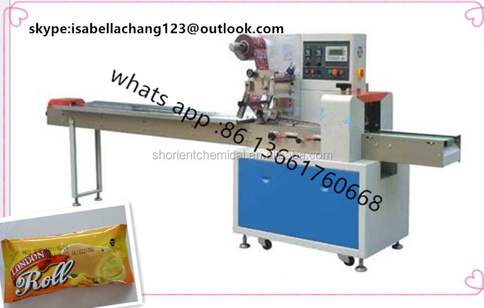 Pillow Type Packing Machine for Chocolate Bar