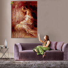 Free Sample Half-naked Woman oil painting print on canvas on sale