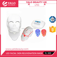YL-SK9 Skin Care Cosmetic PDT LED Whitening & Moisturizing Facial Electrical Mask