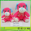 china factory supply new products red stuffed plush toy dog