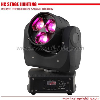 3*15 watt led moving head with zoom wash & vortex effect 2015 dj led light