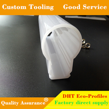 Good quality 3-year warranty full plastic pc led light tube housing