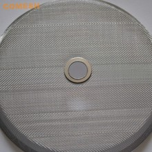 200 Micron Stainless Steel Wire Mesh Porous Metal Filter Disc