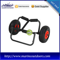 Trailer trolley, Boat trailer with pneumatic wheel, Aluminum trolley cart