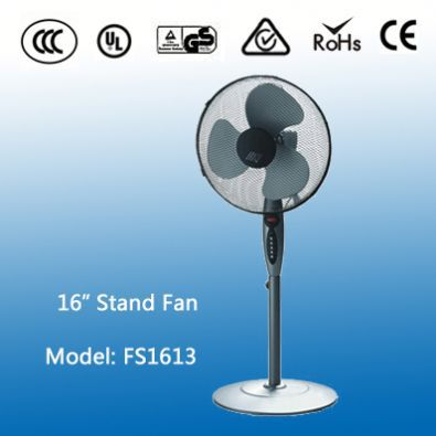 Hot 30Cm Antique 16'' Cheap Stand Fan With Remote Control