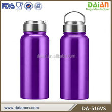 Custom printed stainless steel bpa free sports water bottle,thermos