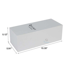 wine packing cardboard wine white box with foam insert