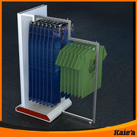 display pictures clothes rack for brand clothing