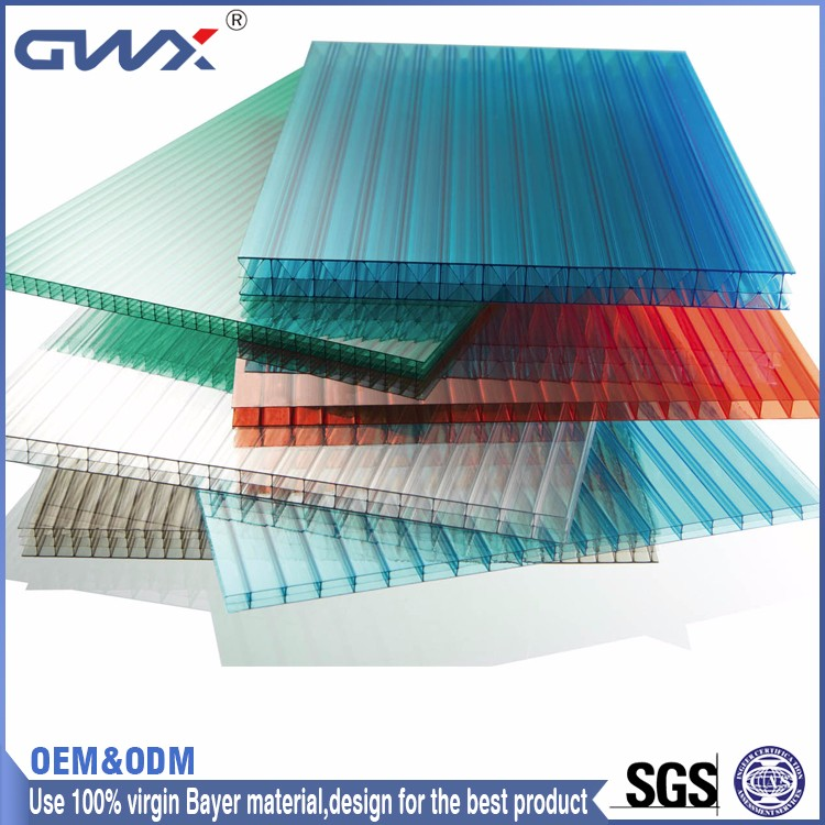 green 6mm marklon polycarbonate sheet for building material