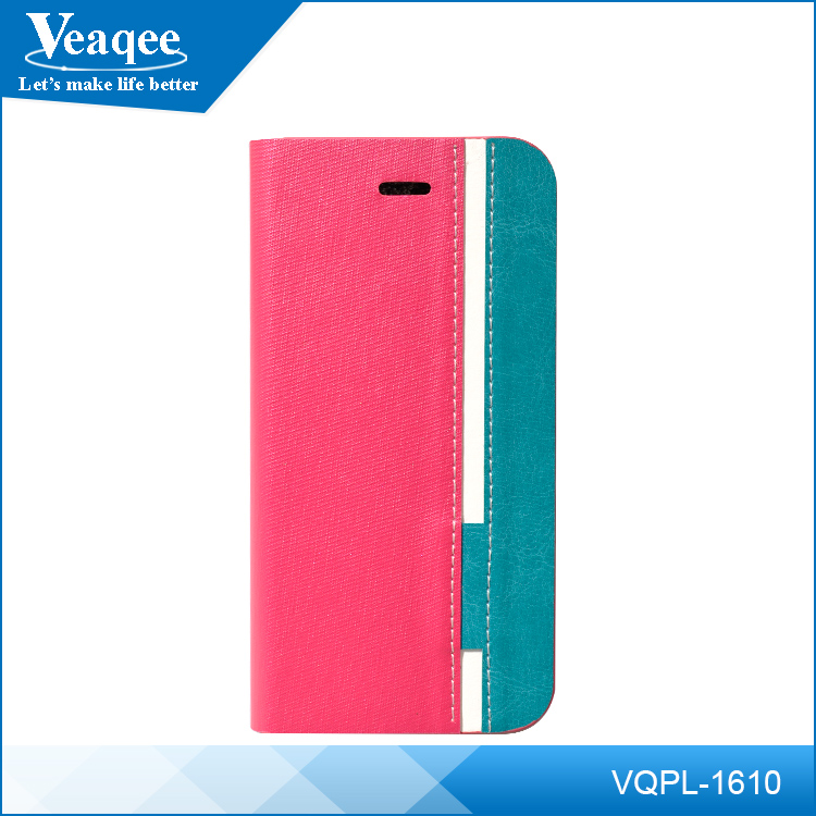 Veaqee oem phone case,leather flip case for iphone,for iphone6 leather case