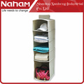 NAHAM Multifunction furniture closet organizers fabric wall hanging storage organizer