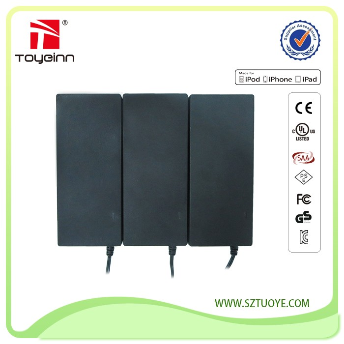 Made in China Desktop AC Power Adapter 16.8V 29.4V 42V 2A Battery Charger for Smart Balance Scooter