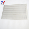 Custom made Flat sheet stamping Aluminum roof vent grate