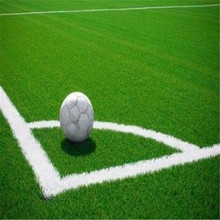 yarn with stem fiber Durable Artificial Turf for Soccer