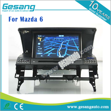 High quality Auto radio car dvd player for Mazda 6 car Stereo gps navigation with DVR BT IPOD AM/FM
