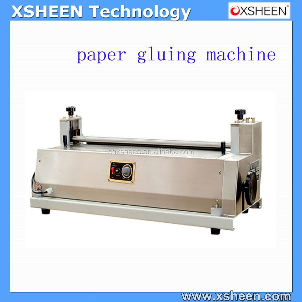 2 Gluing Machines desktop glue machine,hot melt glue machine,paper glue machine