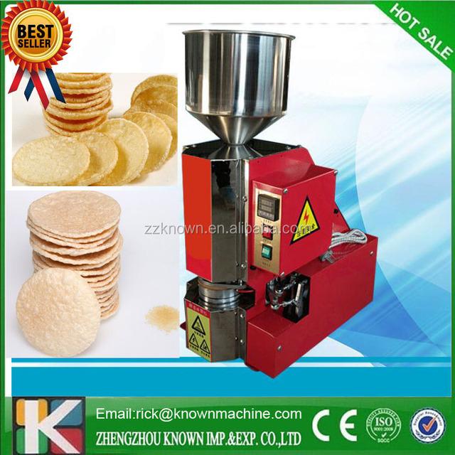 2017 NEWLY DESIGN KOREA rice cake popping machine/thai rice cracker