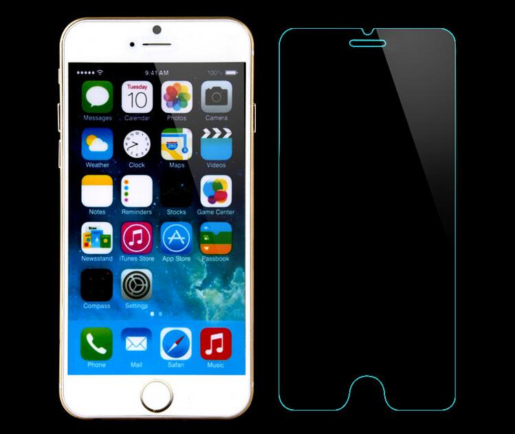 Free Sample 9H 0.3mm tempered glass screen protector for iphone 6 tempered glass for iphone 6