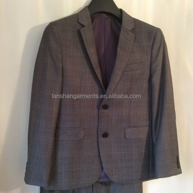 Boy high school uniform suit design