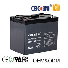 UPS solar system rechargeable deep cycle GEL battery 12v85ah