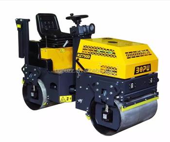 1000KG RIDE- ON VIBRATORY ROLLER