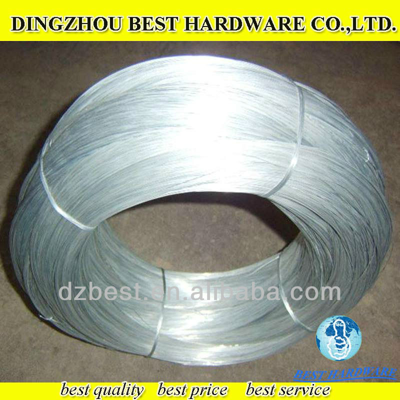 zinc coated galvanized iron binding wire price