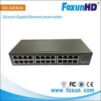 24 port Vlan Switch for HDMI broadcasting over cat6 cable Support 8K MAC address