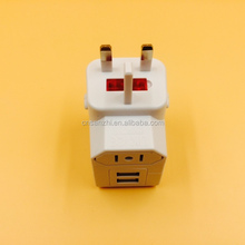 Alibaba Wholesale All in One Universal International AU US UK EU Plug Adapter World Travel AC Power Charger Adaptor for Travel