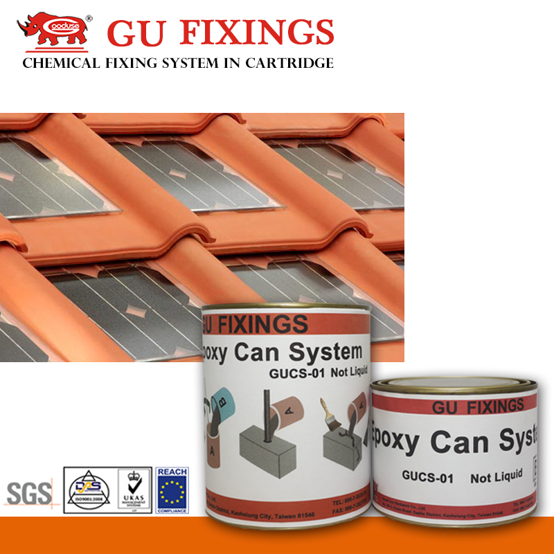Taiwan products epoxy resin adhesive for metal solar panel roof tiles