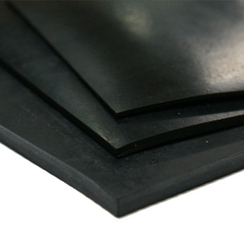 3mm thickness fabric smooth surface natural rubber sheet