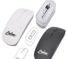 Elegant and ergonomic design 2.4MHZ slim Wireless Mouse