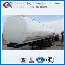 Clw 4Axles Double Hull Oil Tanker,Fuel Semi Trailer, Fuel Tanks With Bpw Axle