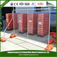 2015 new products of ASTM 4687-2007 used galvanized removable temporary swimming pool fence, temporary fence