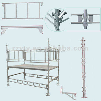 Northern European Haki Scaffolding system stage assembly,construction scaffold