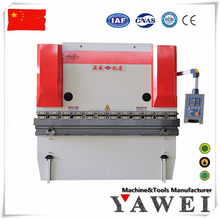 hydraulic steel folding machine 100Tons / 4000mm hydraulic press brake cnc bending aluminum and carbon sheet