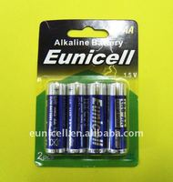 R6 AA battery LR6 size AA AM3 1.5v battery(Eunicell brand)
