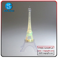 LED Lighting eiffel tower decoration, eiffel tower centerpieces
