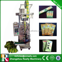 Multipurpose high efficiency commercial paste sachet packing machine