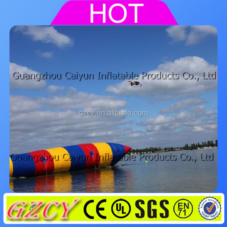 High Quality Inflatable Aqua Floating Water Blob Toy For Kids And Adults