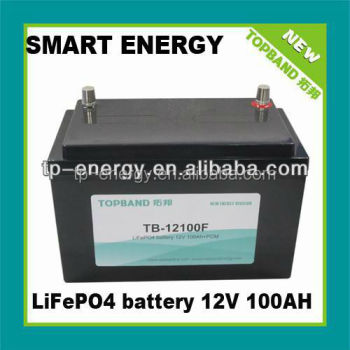 Nano 100Ah 12v battery for electric moped