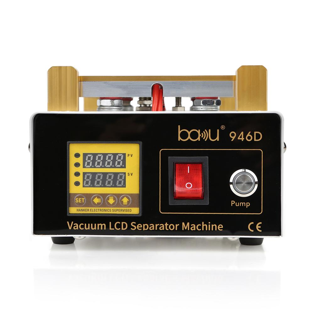 BAKU BK 946D digital lcd touch screen glass separator repair machine with exceptional quality for mobile phone