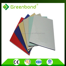 Greenbond high class 3mm commercial kitchen stainless steel wall panels