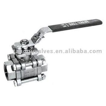 S/S Threaded Ball Valve