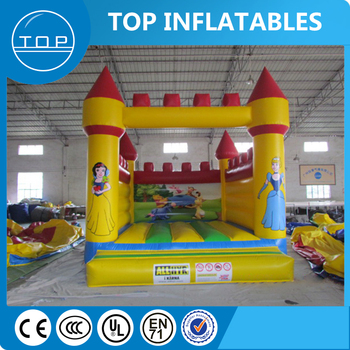 Supplier Wholesale 0.55mm PVC Tarpaulin Inflatable toy house bouncer for kids