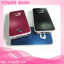 2012 HOT SELL 8000mah portable external notebook battery charger